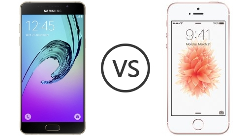 IPHONE SE VS SAMSUNG A5