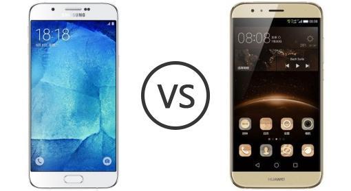 samsung galaxy a8 vs huawei g7 plus   phone comparison
