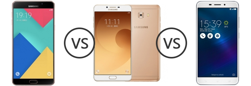 Samsung Galaxy A9 Pro 2016 Vs Samsung Galaxy C9 Pro Vs