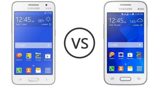 Samsung Galaxy Core 2 Duos Vs Samsung Galaxy V Plus Phone Comparison