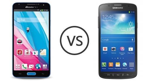 Samsung Galaxy J vs Samsung Galaxy S4 Active LTE-A