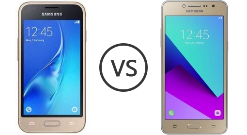 Samsung Galaxy J1 Mini Prime Vs J2