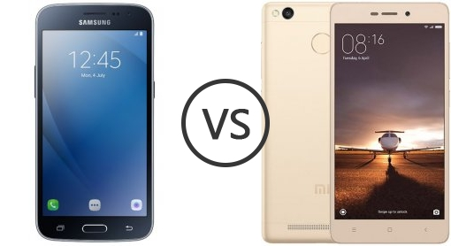 Samsung Galaxy J2 Pro vs Xiaomi Redmi 3S Prime - Phone Comparison