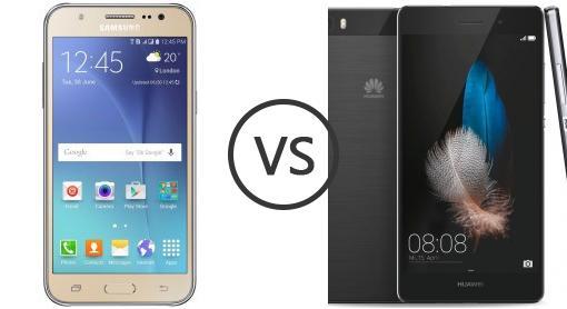 Huawei p8 lite vs galaxy a3