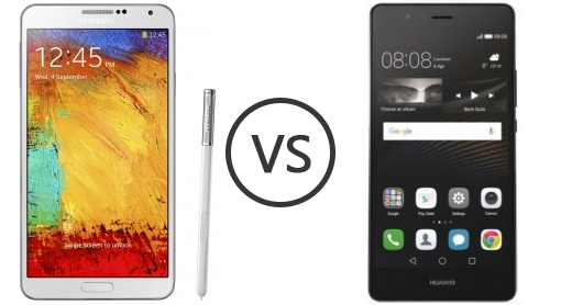samsung galaxy note 3 vs huawei p9 lite phone comparison. Black Bedroom Furniture Sets. Home Design Ideas