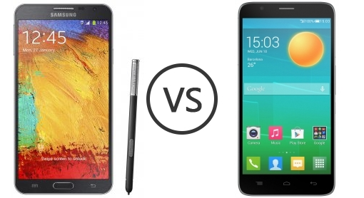 Samsung Galaxy Note 3 Neo vs Alcatel Onetouch Flash - Phone