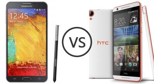 tried htc desire 820 vs note 3 Lumia 1520