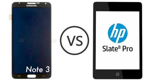 Samsung Galaxy Note III vs HP Slate8 Pro
