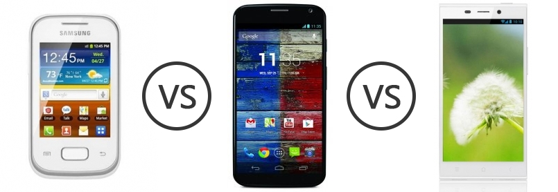 compare phones samsung galaxy pocket duos s  vs motorola moto x gionee elife e
