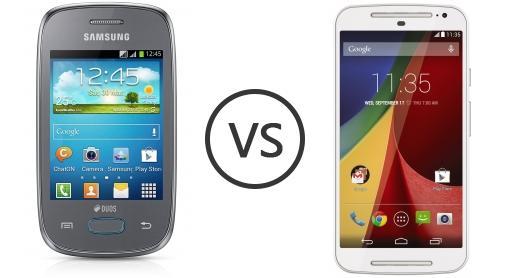 compare phones samsung galaxy pocket neo duos s  vs motorola moto g (gen )