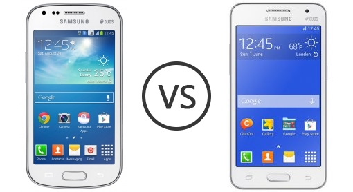 Core Duos vs Core 2 Samsung Galaxy Core 2 Duos