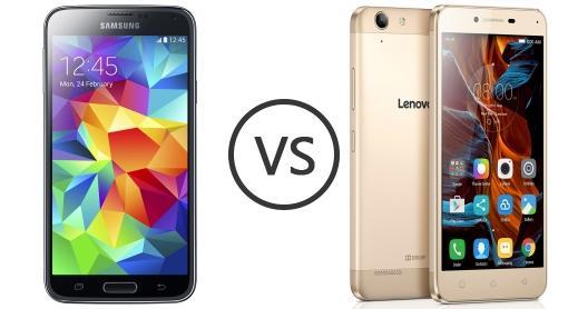 Samsung Galaxy S5 Vs Lenovo Vibe K5 Plus
