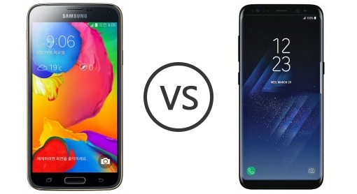 Comparison Samsung Galaxy S5 Lte – Steptown