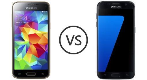 samsung galaxy s5 mini vs samsung galaxy s7 phone comparison. Black Bedroom Furniture Sets. Home Design Ideas