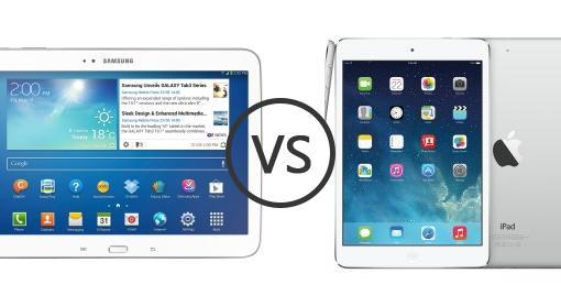 compare phones samsung galaxy tab  p vs apple ipad mini retina display