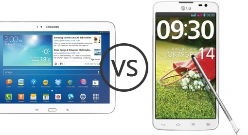 samsung galaxy tab 3 10 1 p5200 vs lg g pro lite dual phone comparison. Black Bedroom Furniture Sets. Home Design Ideas