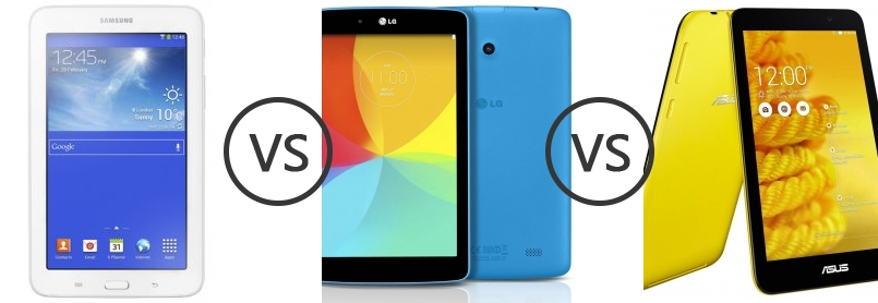 samsung galaxy tab 3 7 0 lite vs lg g pad 7 0 vs asus memo pad 7 me176c phone comparison. Black Bedroom Furniture Sets. Home Design Ideas