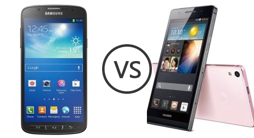 Samsung I9295 Galaxy S4 Active vs Huawei Ascend P6 - Phone Comparison