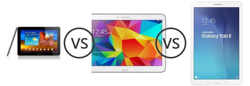 Samsung P7500 Galaxy Tab 10 1 3G vs Samsung Galaxy Tab 4 10 1 LTE vs