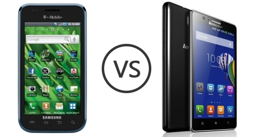 Samsung vibrant 790 vs lenovo a536 1686