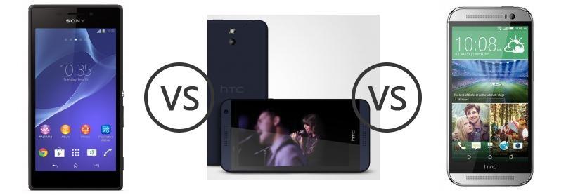 provide htc desire 610 vs htc one mini your choice