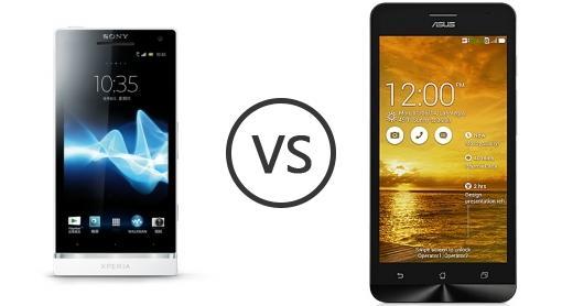 Sony xperia sl vs asus zenfone 5 lite a502cg phone comparison