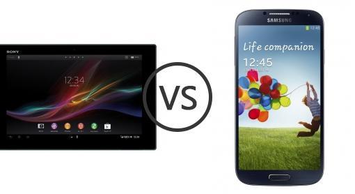 Xperia Z Vs Galaxy S4 Sony Xperia Tablet Z v...