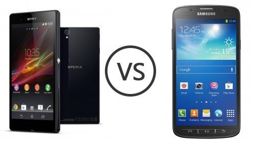 Xperia Z Vs Galaxy S4 Sony Xperia Z vs Samsu...