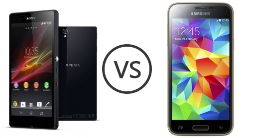 Sony Xperia Z vs Samsung Galaxy S5 mini - Phone Comparison