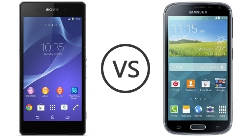 Sony Xperia Z2 Vs Samsung Galaxy K Zoom Phone Comparison
