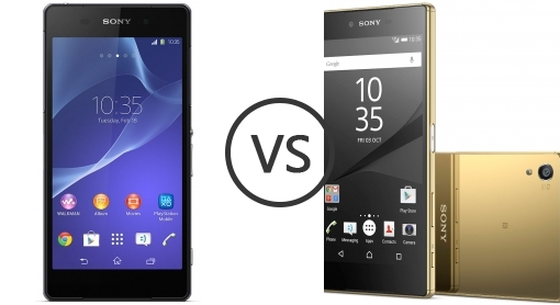 Sony Xperia Z2 vs Sony Xperia Z5 Premium - Phone Comparison