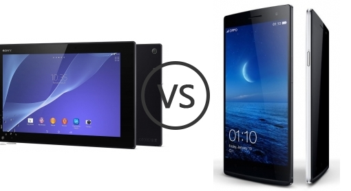 oppo find 7a vs sony xperia z2 strongly