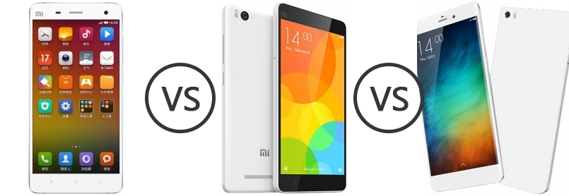 xiaomi mi4 vs xiaomi redmi 3 display this