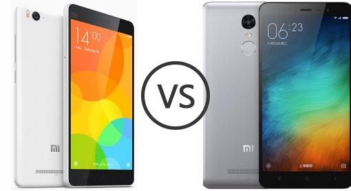 you buy xiaomi mi4 vs xiaomi redmi 3 contracted phone