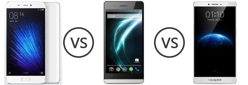 xiaomi mi 5 vs lava iris icon vs oppo r7 plus   phone comparison