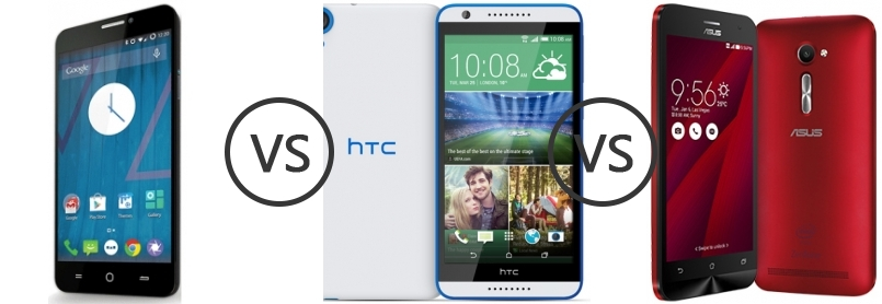 the htc desire 820 vs yu yureka have