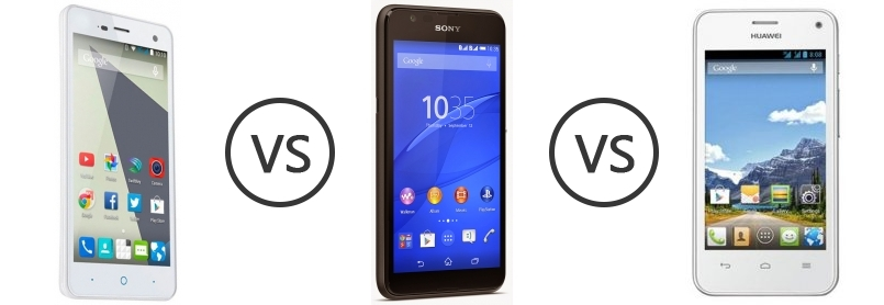 Offer View zte blade 3 vs sony xperia e ericsson android phones