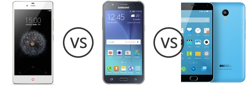 the product zte v6 plus vs samsung j7 yourself