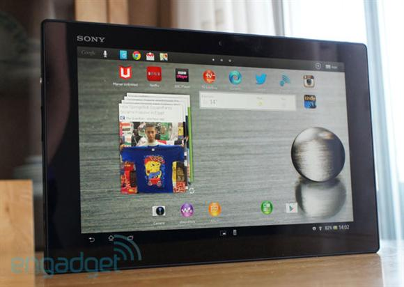 Sony Xperia Tablet Z Review Engadget