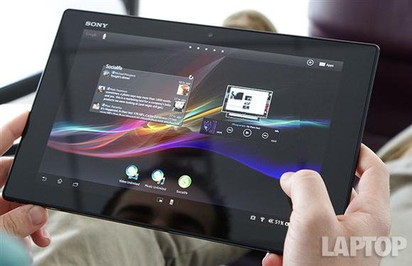 Sony Xperia Tablet Z Review Laptopmag