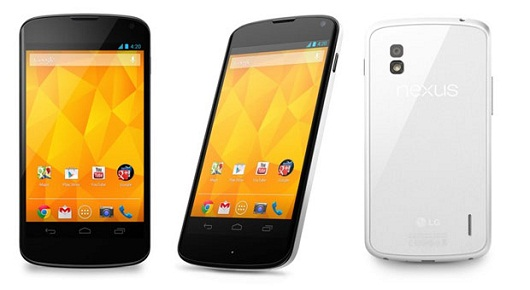 LG officially announces the white Nexus 4, to launch on ...