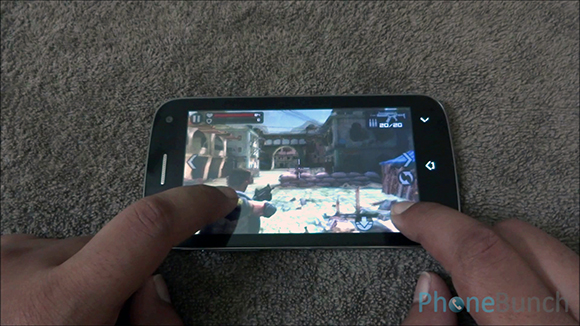 Micromax Canvas 2 Plus Frontline Commando Game