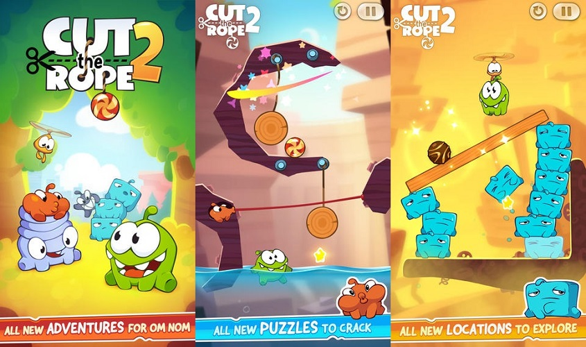 Cut The Rope 2 Arrives on