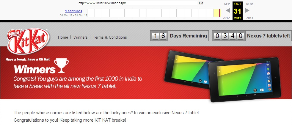Nestle Android Kitkat Contest India Controversy