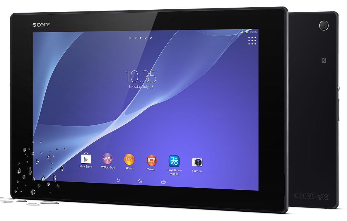 Sony Unveils The Xperia Z2 Tablet in 10.1 Inch Submersible