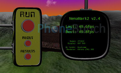 Moto E Nenamark Score