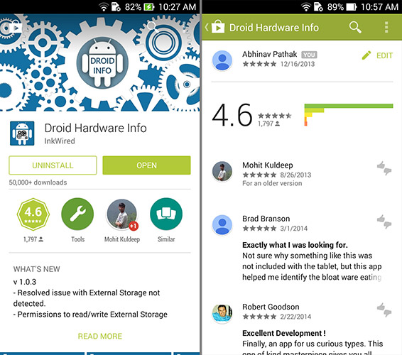 Google Play Store V4 Updated With Material Design