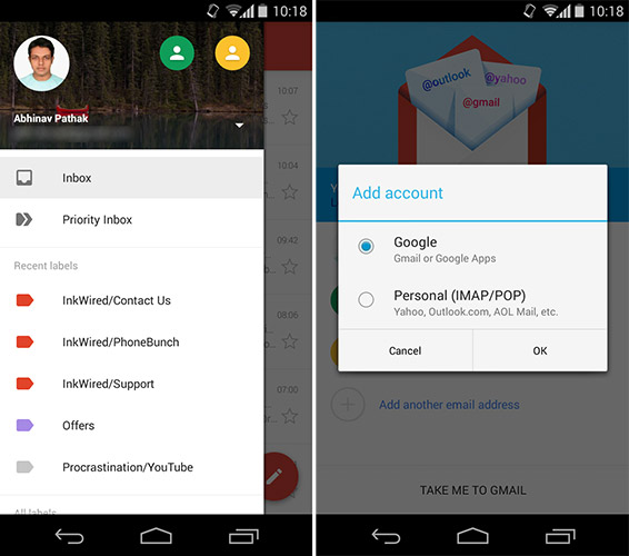 Gmail updates to v5.0 with material design makeover ...