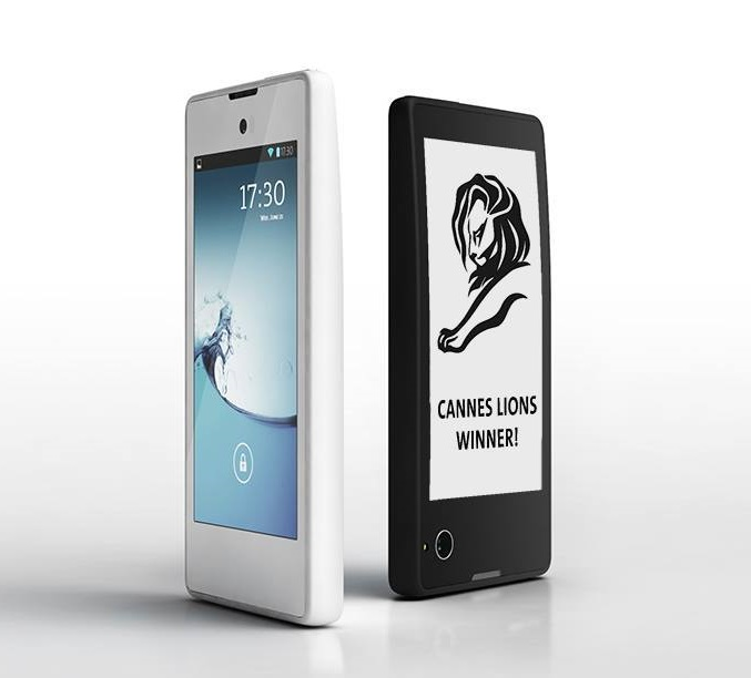 YotaPhone with dual 4.3-inch LCD and e-Ink displays ...