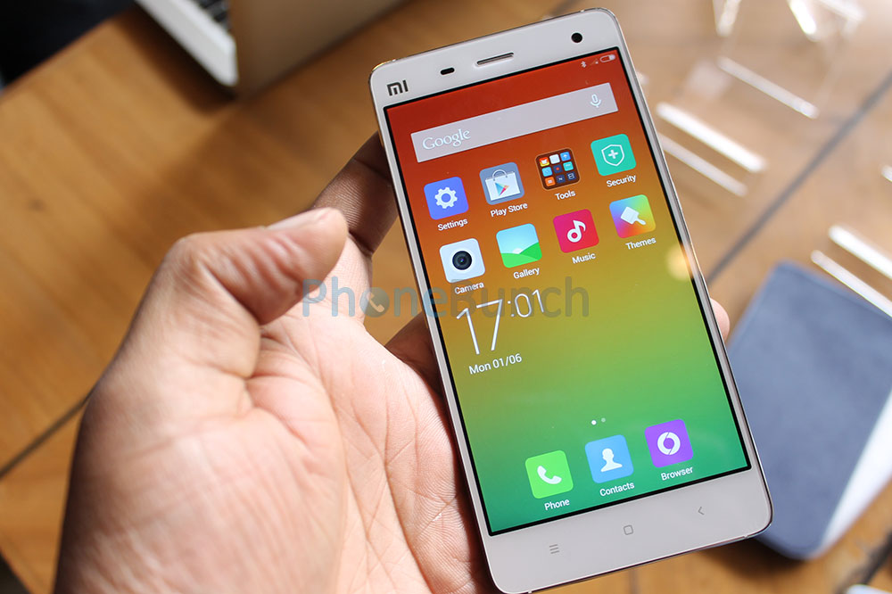 Xiaomi Mi4 India Hands On Video And Images